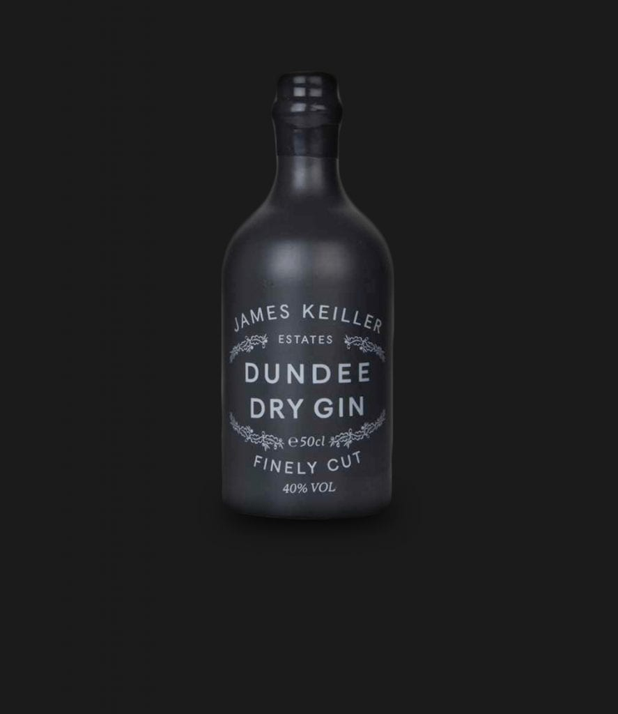 Dundee Dry Gin – Black 50cl