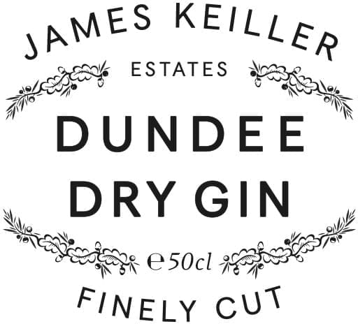 James Keiller Estates Dundee Dry Gin Logo